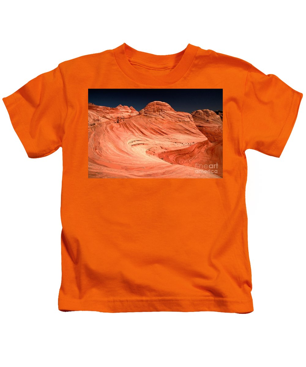 Coyote Buttes Kids T-Shirt featuring the photograph Cupcakes And Canyons by Adam Jewell