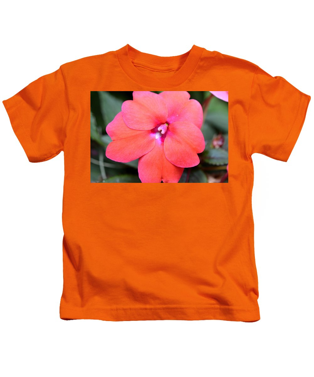 Colorful Kids T-Shirt featuring the photograph Dsc566d by Kimberlie Gerner