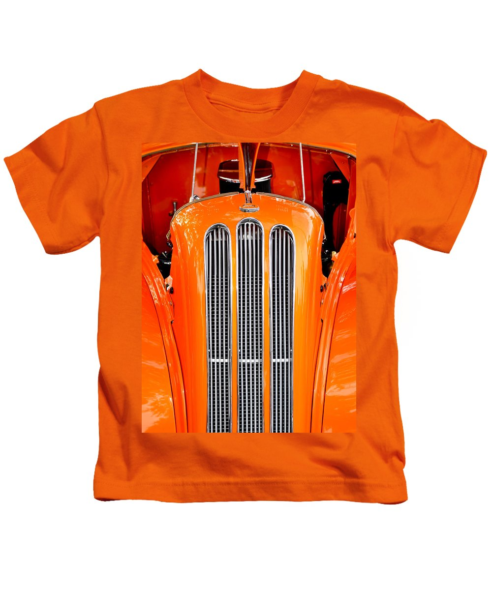 Ford Anglia Kids T-Shirt featuring the photograph Ford Anglia Classic by Carolyn Marshall