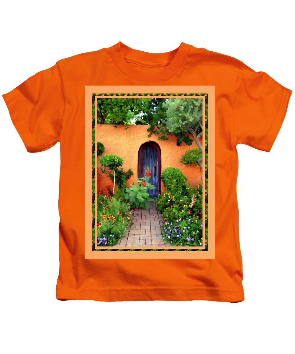 Garden Kids T-Shirt featuring the photograph Garden Delights Mesilla by Kurt Van Wagner