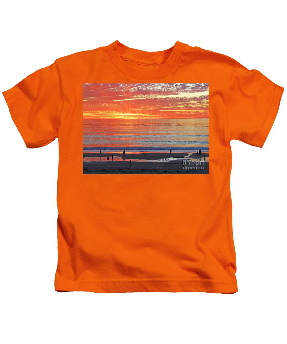 Sunset Kids T-Shirt featuring the photograph Hallelujah by Kris Hiemstra