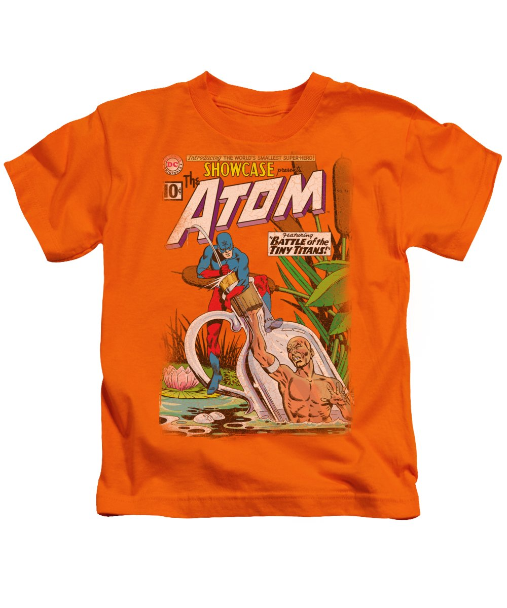 Justice League Of America Kids T-Shirt featuring the digital art Jla - Showcase #34 Cover by Brand A
