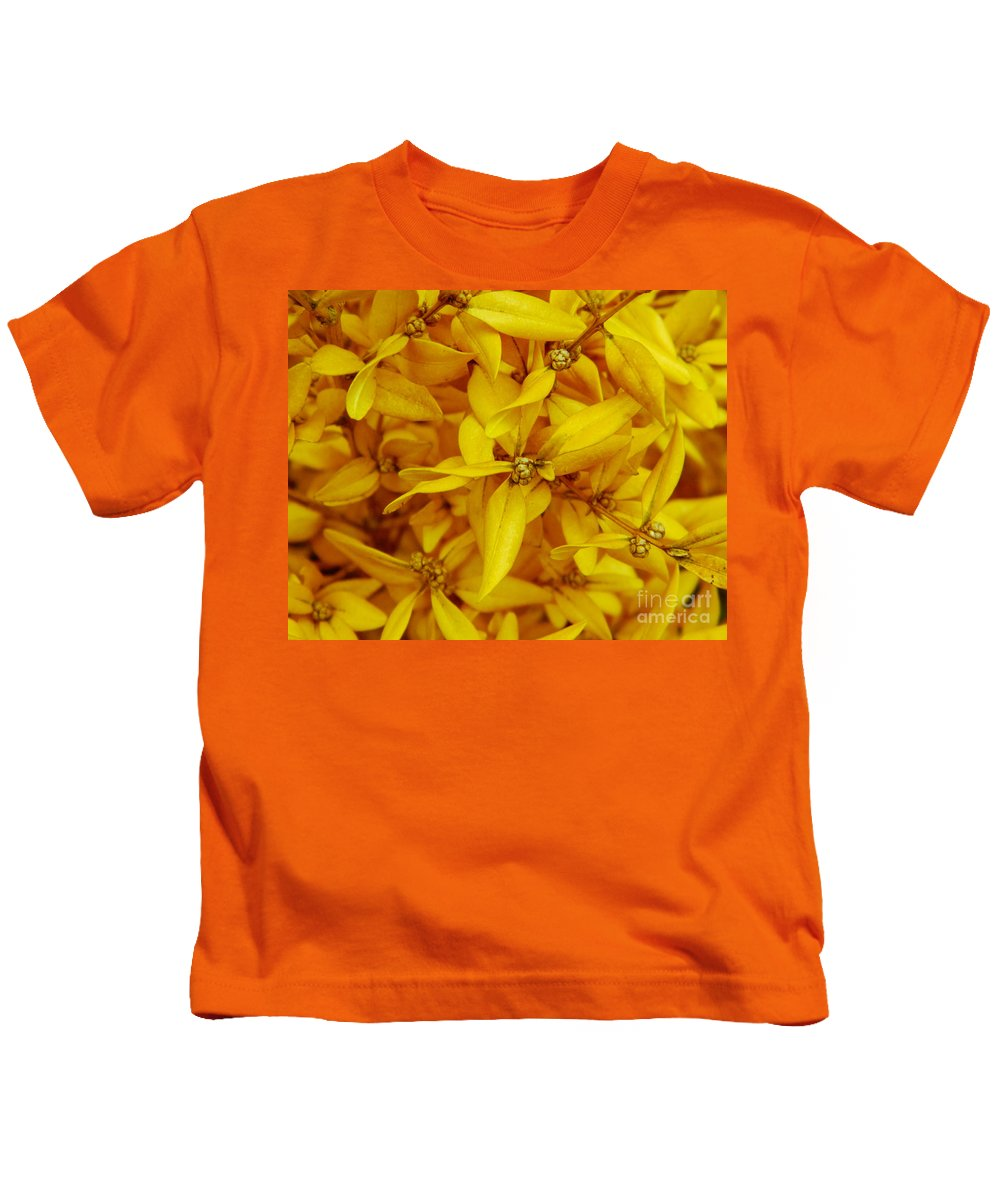 Garden Kids T-Shirt featuring the photograph Nature by Andrea Anderegg