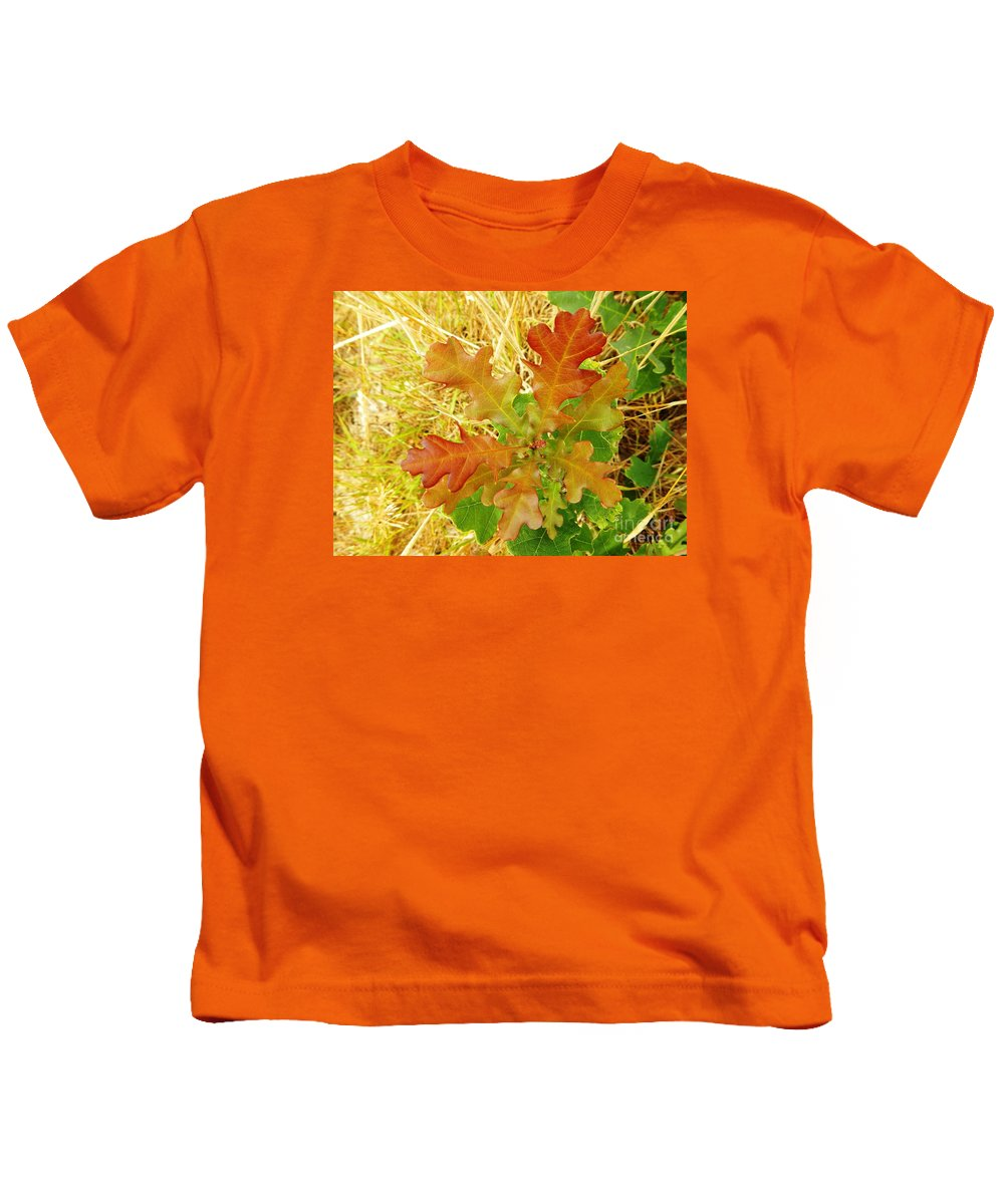 Nature Kids T-Shirt featuring the photograph New Arrival by Loreta Mickiene