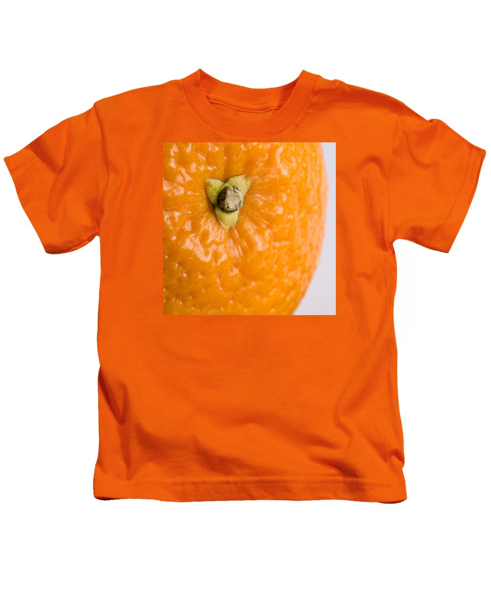 Orange Kids T-Shirt featuring the photograph Orange by Nigel R Bell