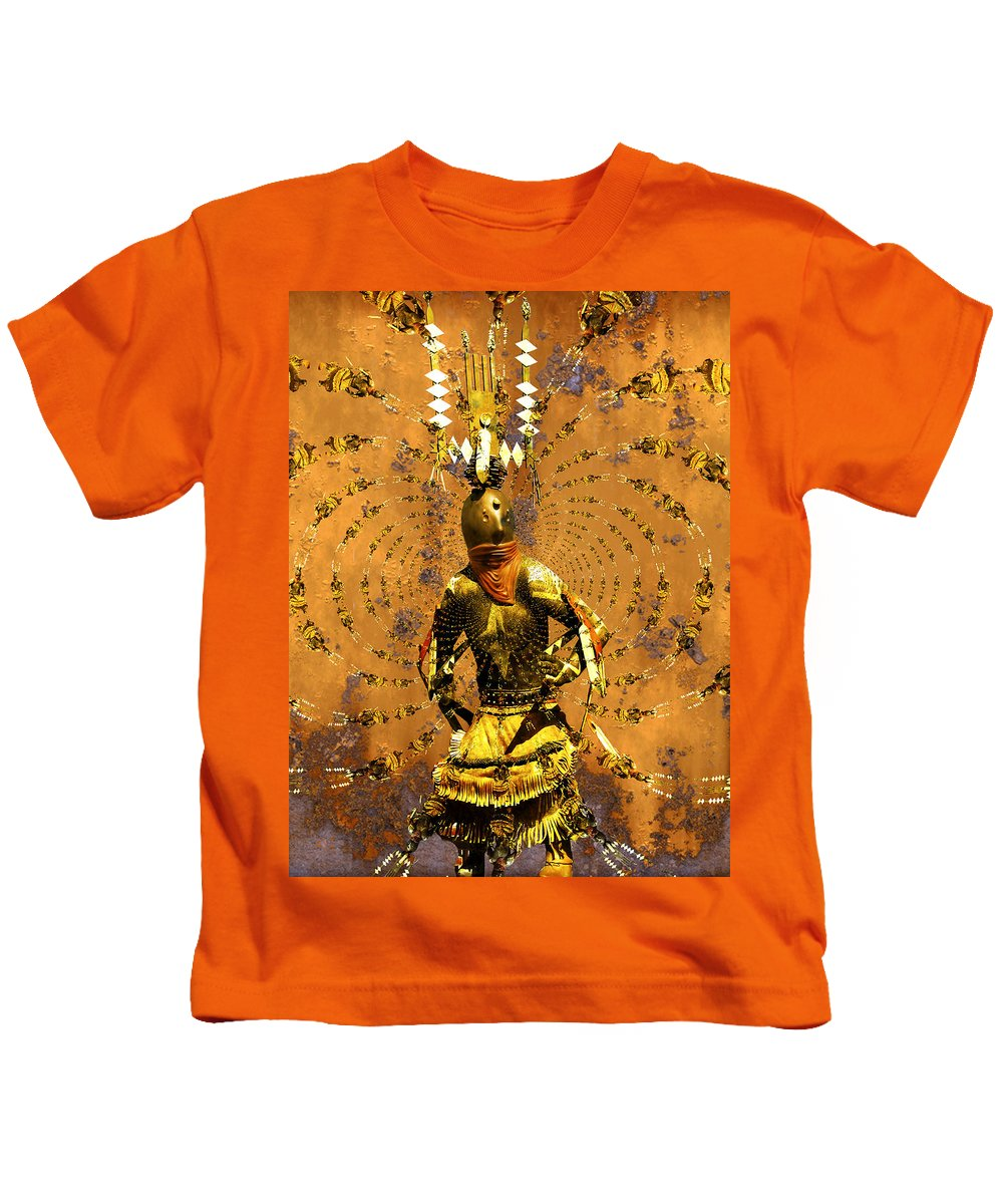 Kachina Kids T-Shirt featuring the photograph Spirit Dance by Kurt Van Wagner