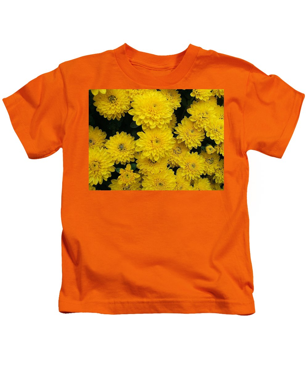 Floral Kids T-Shirt featuring the photograph Sunshine by Jo Dawkins