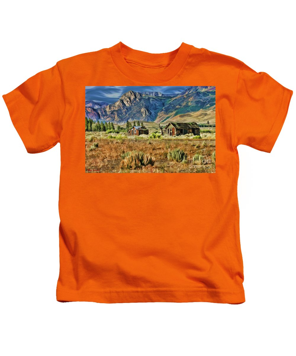 Kids T-Shirt featuring the photograph The Old Neighborhood by Blake Richards