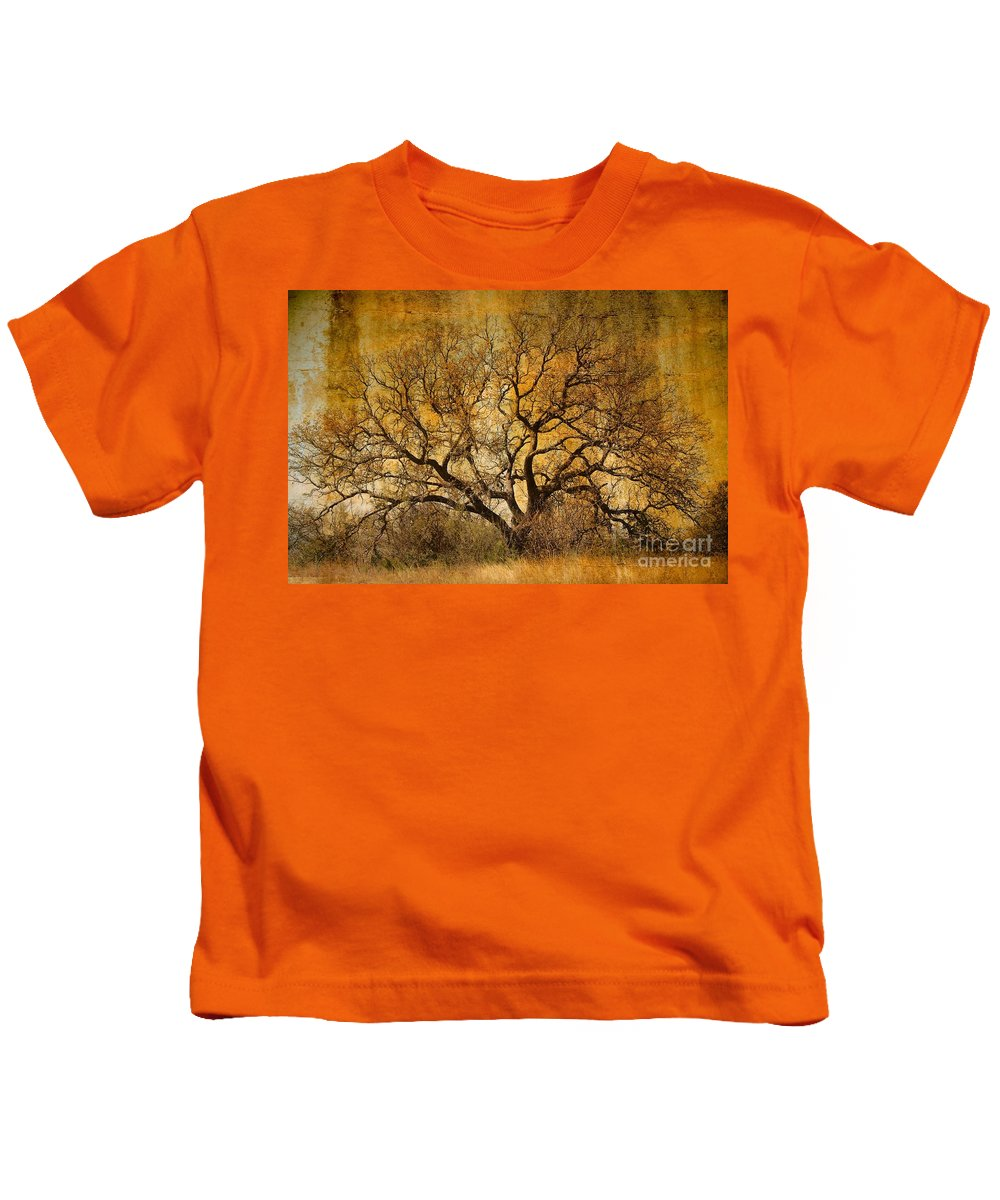 Tree Kids T-Shirt featuring the photograph Tree Without Shade by Gary Richards