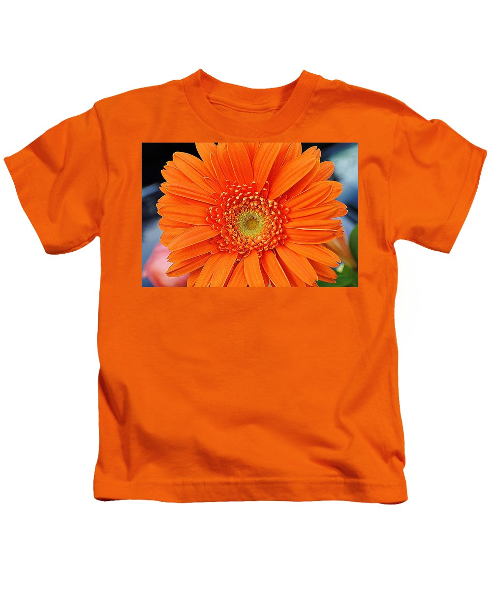 Vivid Kids T-Shirt featuring the photograph Vividacious by Frozen in Time Fine Art Photography
