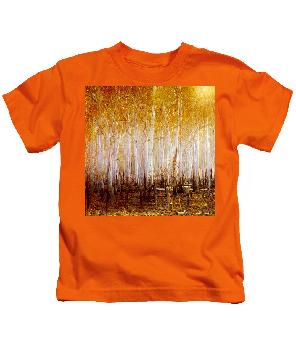 Landscapes Kids T-Shirt featuring the photograph Where The Sun Shines by Holly Kempe