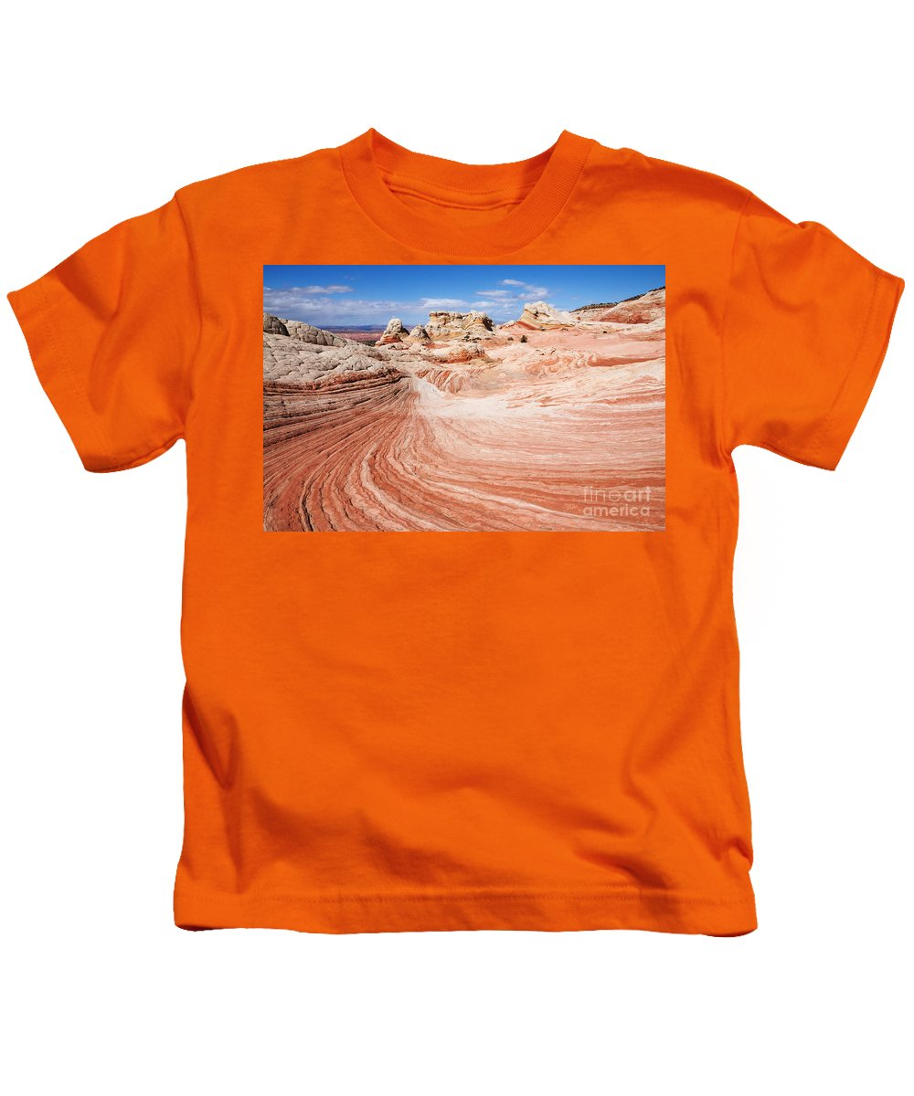 White Pocket Kids T-Shirt featuring the photograph White Pocket by Vivian Christopher