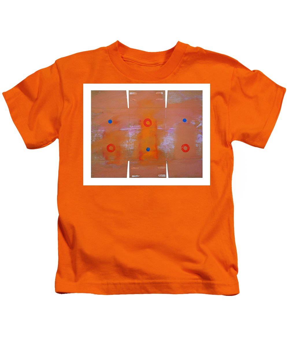 Native Kids T-Shirt featuring the painting Rain Dance by Charles Stuart