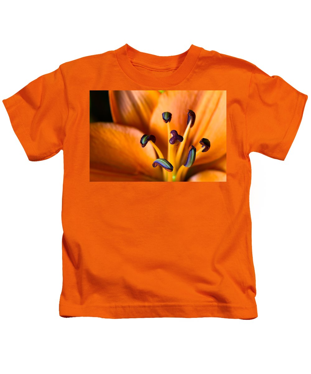 Beautiful Kids T-Shirt featuring the photograph Tiger Lily by Jason Smith