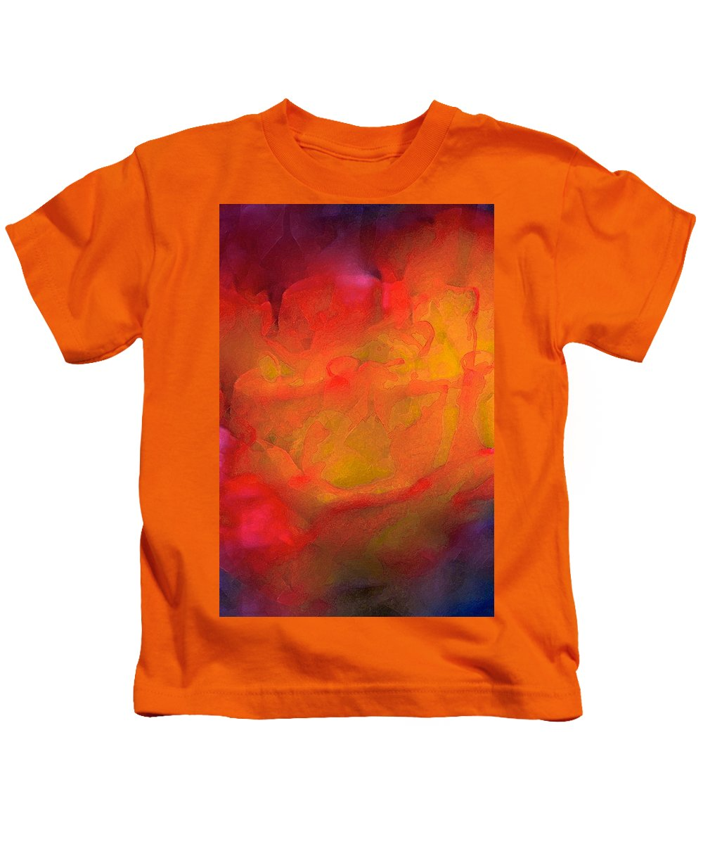Abstract Kids T-Shirt featuring the photograph Abstract 279 by Pamela Cooper