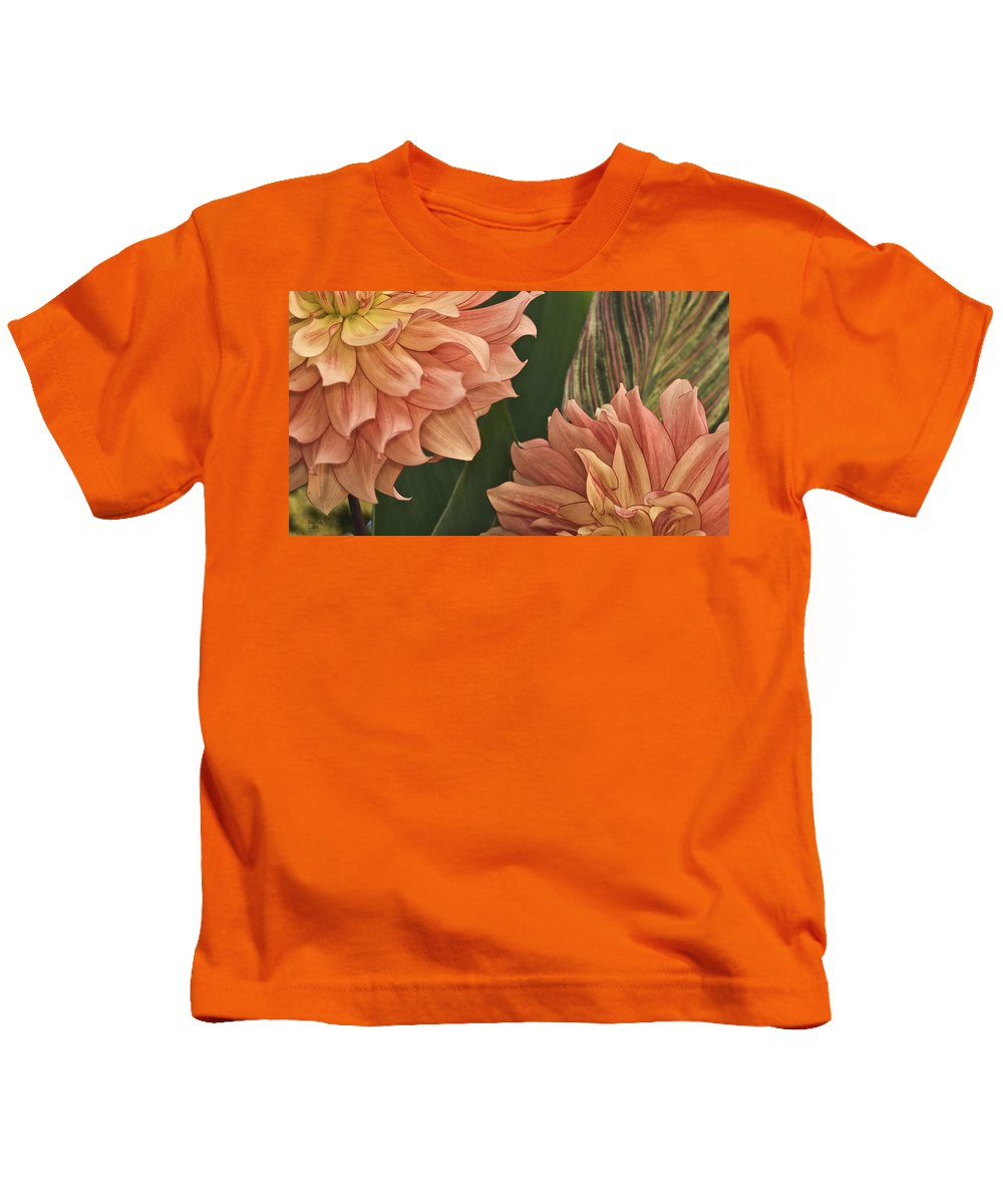 Flower Kids T-Shirt featuring the photograph Adalee's Petals by Trish Tritz