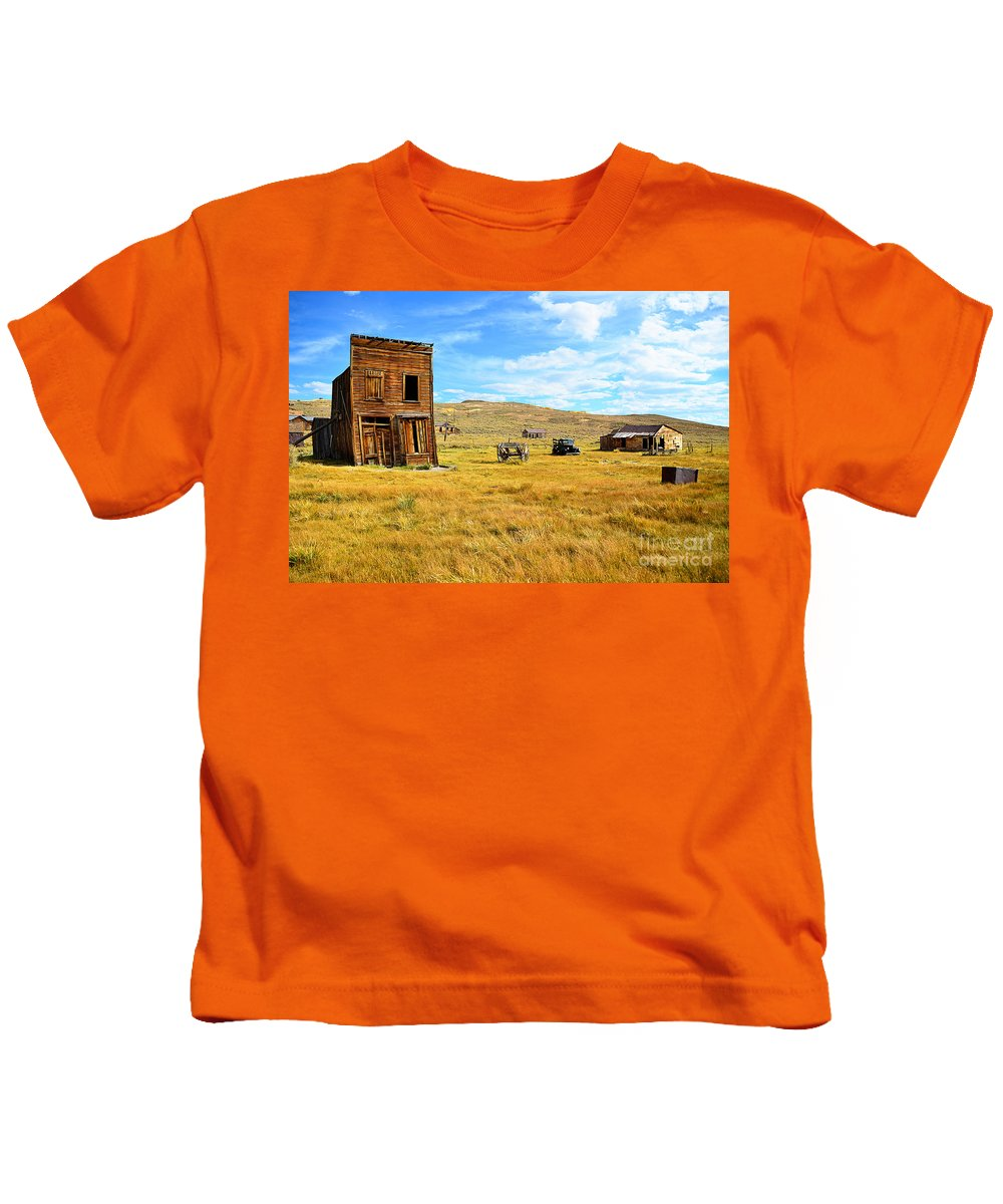 Ghost Kids T-Shirt featuring the photograph All That Remains by Katie Plies