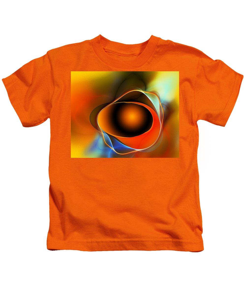 Fine Art Kids T-Shirt featuring the digital art Breakthrough - A Spiritual Awaking by David Lane