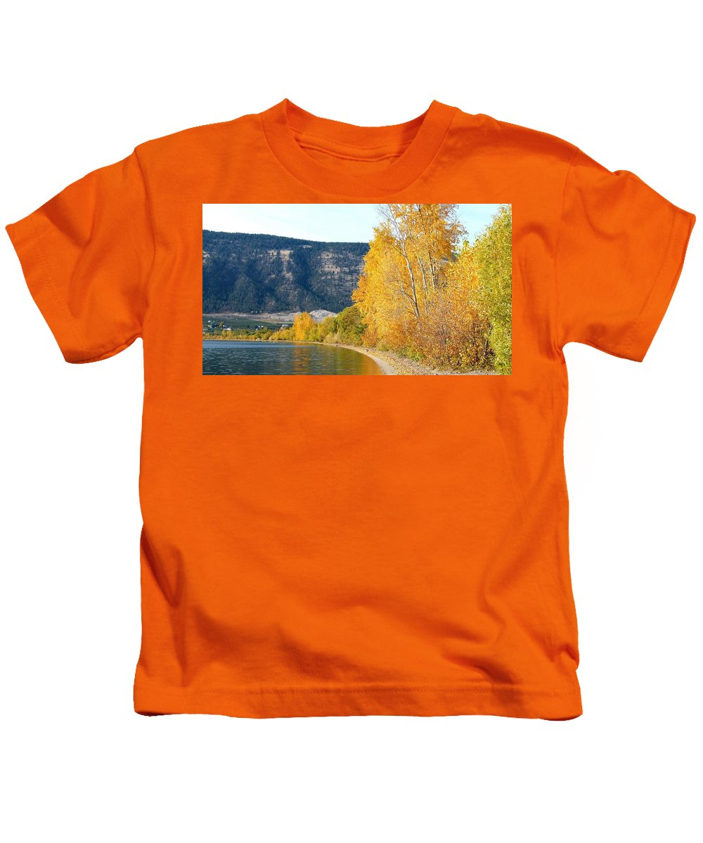 Autumn Kids T-Shirt featuring the photograph Country Color 6 by Will Borden
