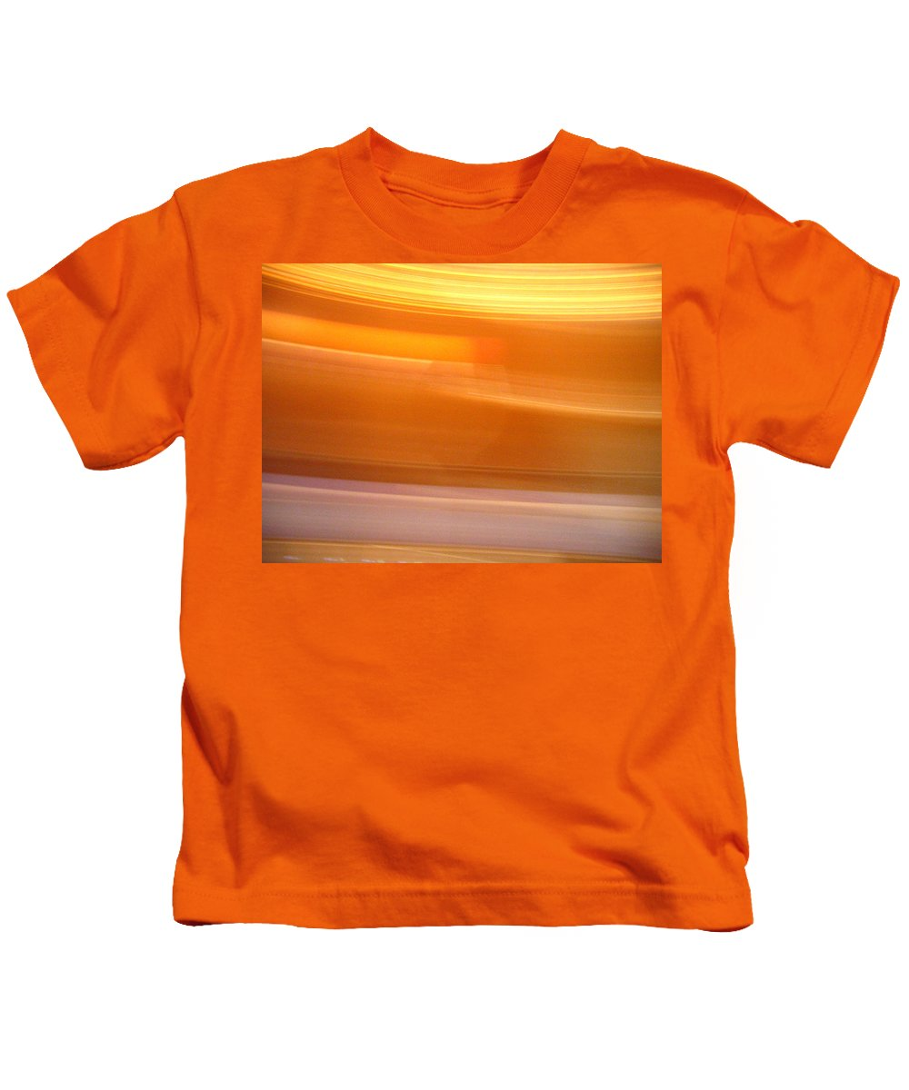 Spining Kids T-Shirt featuring the photograph Spining by Denise Keegan Frawley