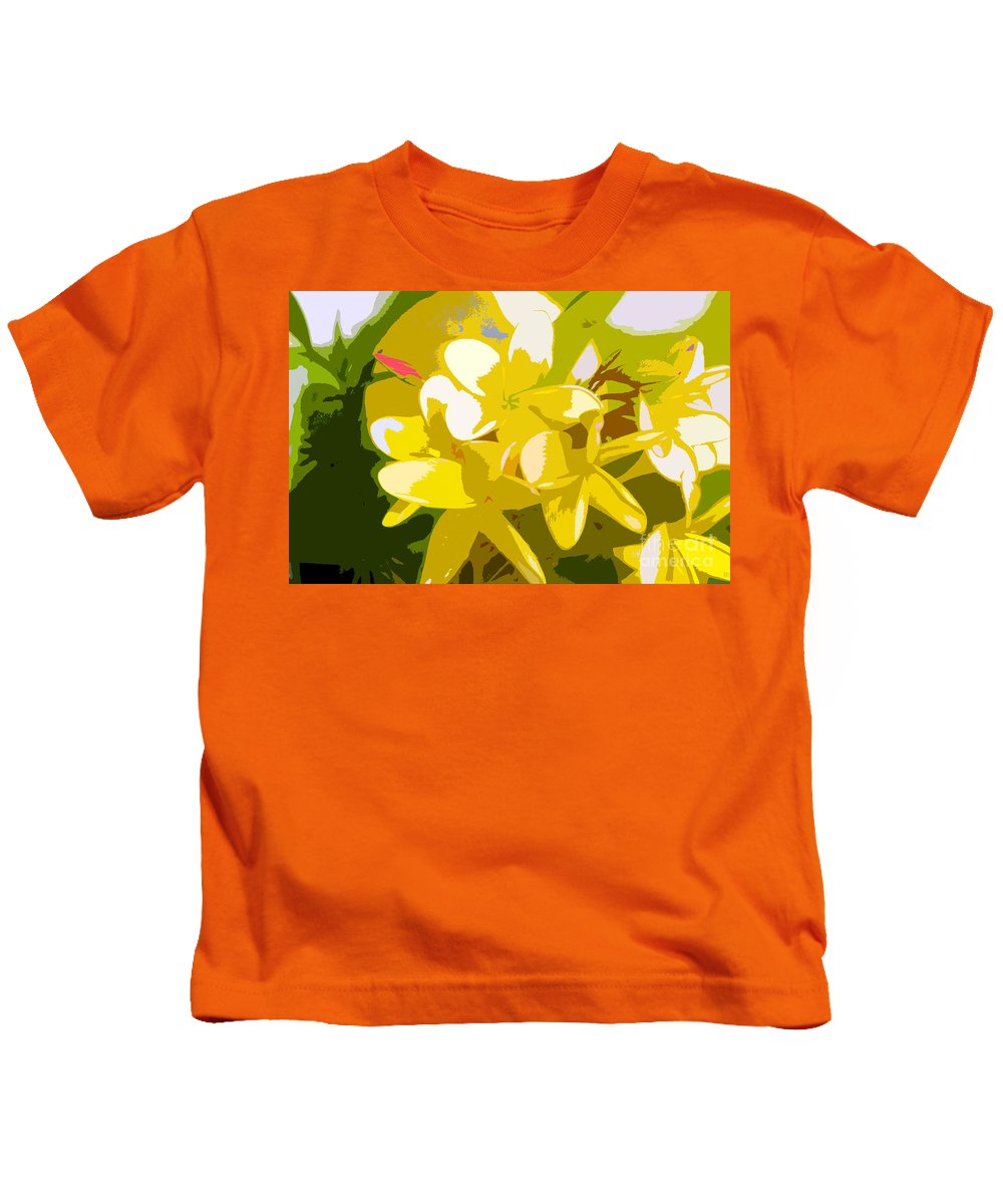 Summer Kids T-Shirt featuring the painting Colors Of Summer by David Lee Thompson