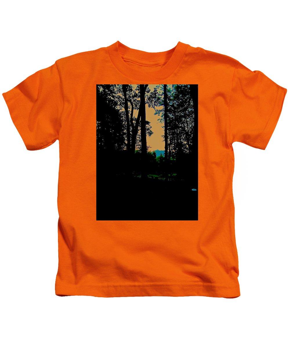 Kids T-Shirt featuring the photograph Emerald Mountain by Elizabeth Tillar