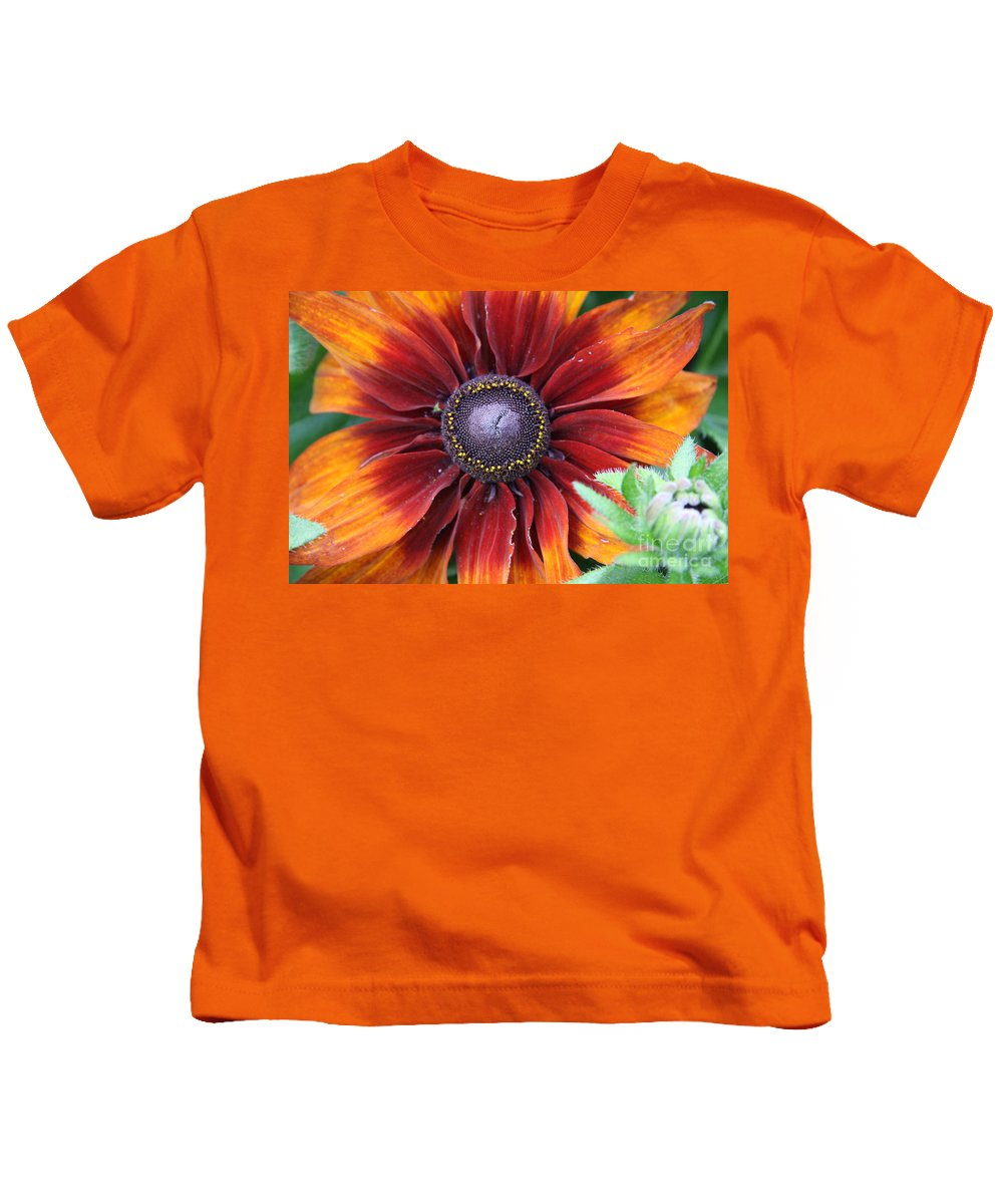 Sunflower Kids T-Shirt featuring the photograph Little Sunshine by Christiane Schulze Art And Photography