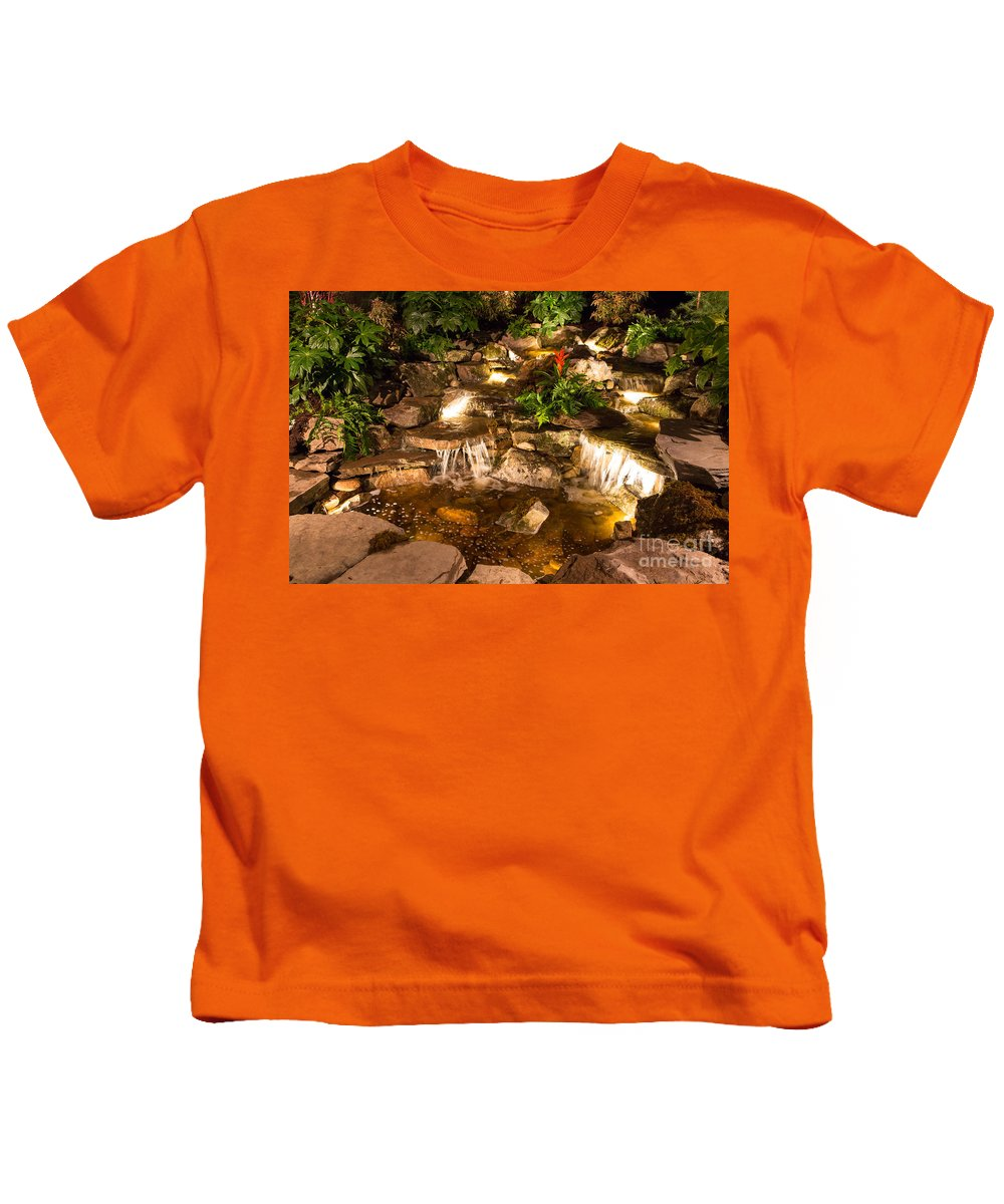 Landscape Kids T-Shirt featuring the photograph Imaginative Landscape Design by Kevin McCarthy