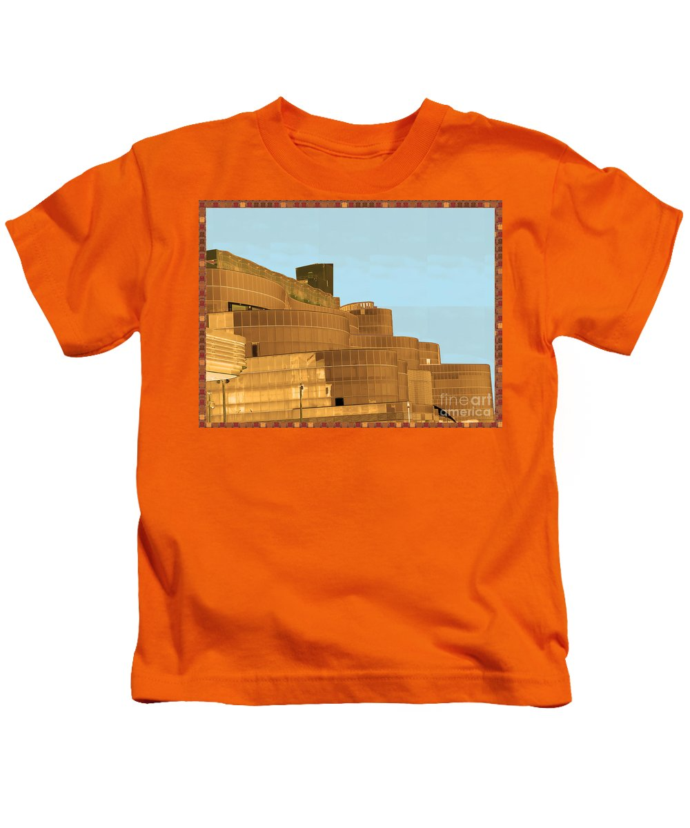 Atalantic Sea Kids T-Shirt featuring the photograph Atalantic America Board Walk And Architecture July 2015 Photography By Navinjoshi At Fineartamerica. by Navin Joshi