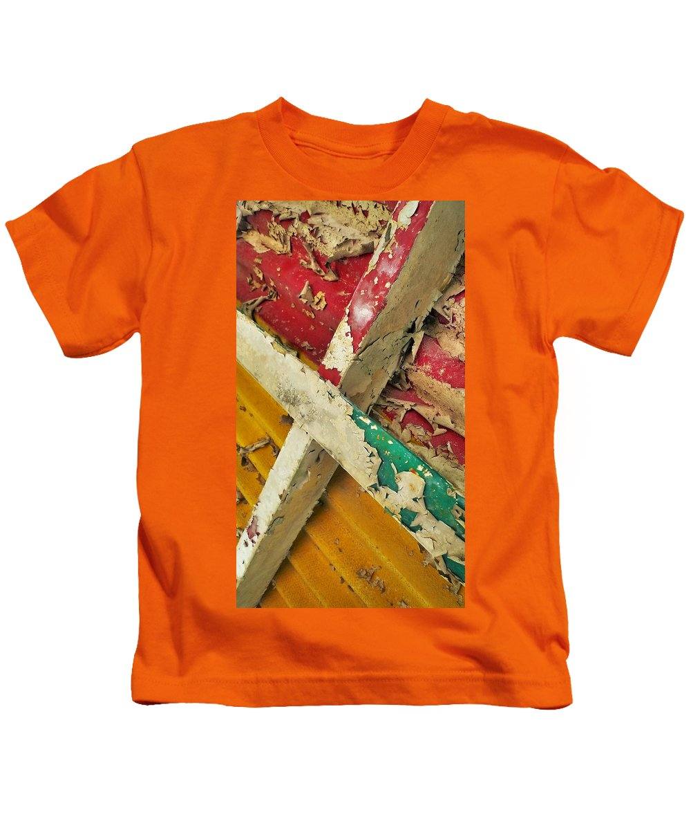 Abstract Kids T-Shirt featuring the photograph 377 At 41 Series 1 by Skip Hunt