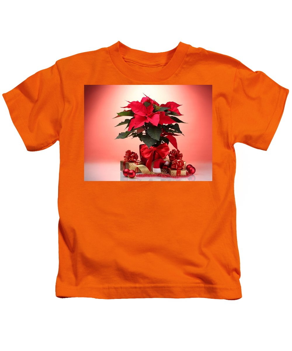 Christmas Kids T-Shirt featuring the digital art Christmas by Dorothy Binder