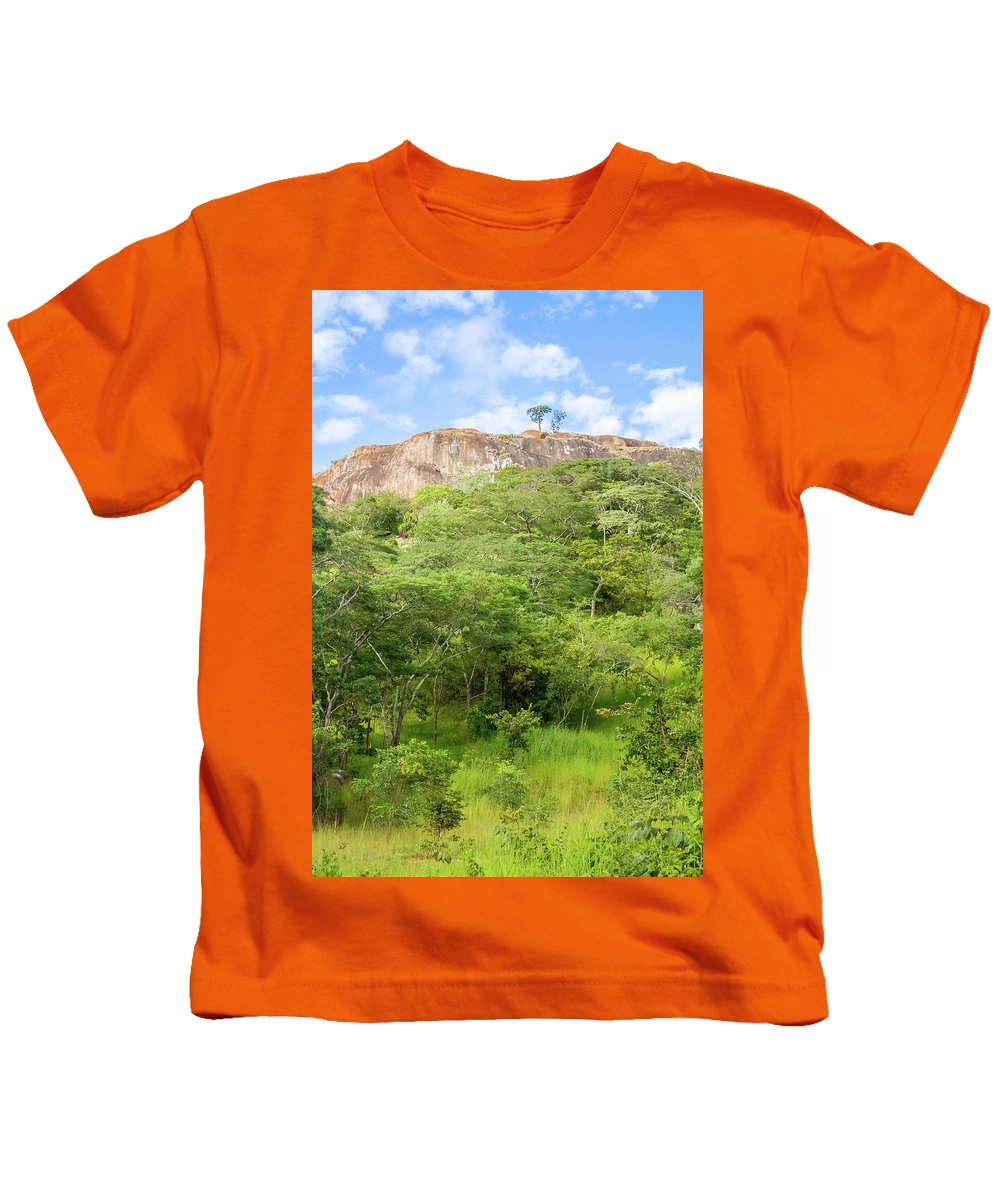 Wild Kids T-Shirt featuring the photograph Landscape In Tanzania by Marek Poplawski
