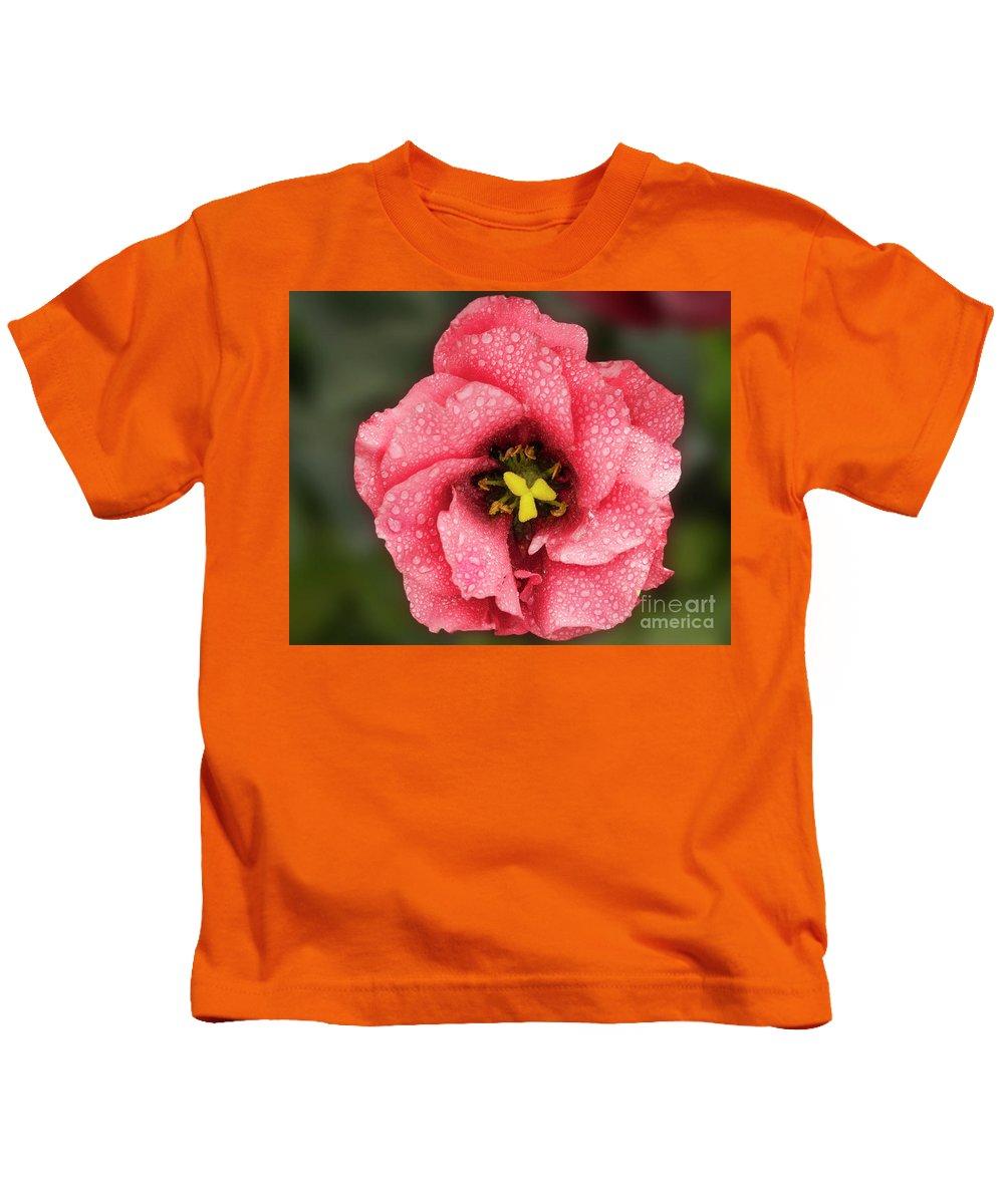 Flowers Kids T-Shirt featuring the photograph Nice Flower by Elvira Ladocki