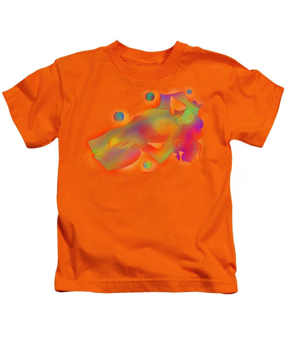Human Interest Paintings Kids T-Shirts