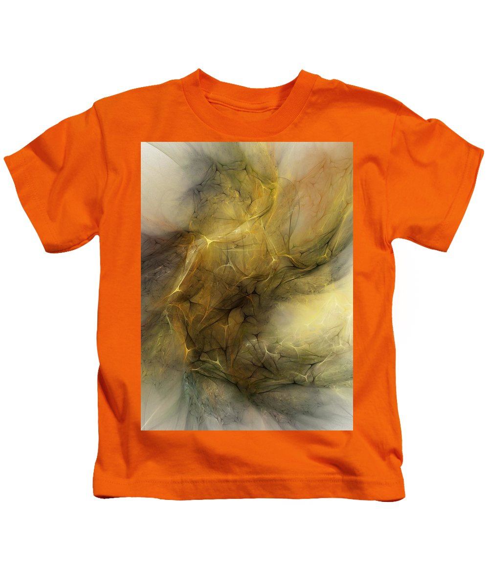 Erotica Kids T-Shirt featuring the digital art Abstract Erotica Karma Sutra by David Lane
