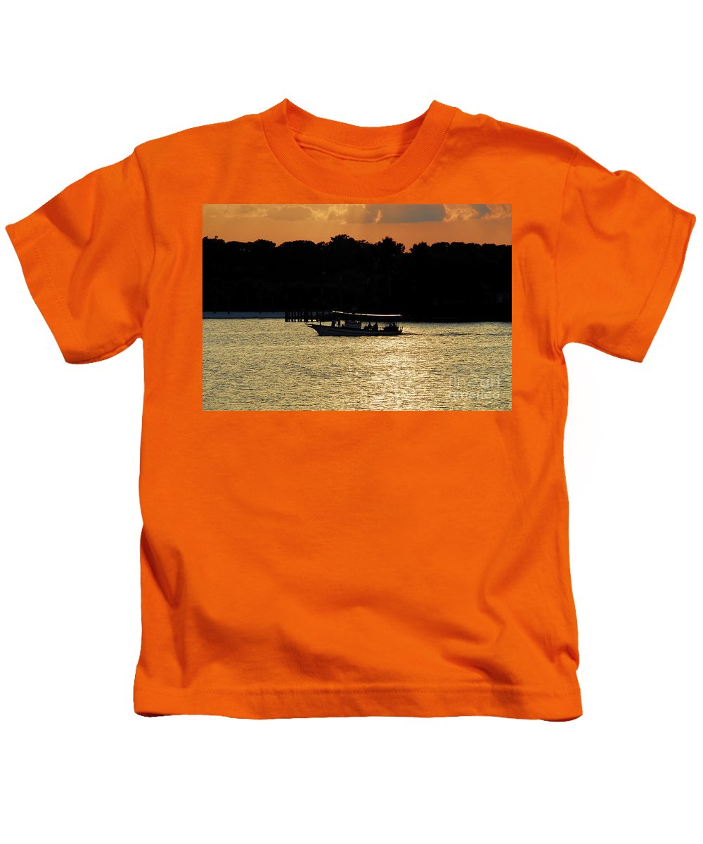 Adventure Travel Kids T-Shirt featuring the photograph Adventure Travel by David Lee Thompson