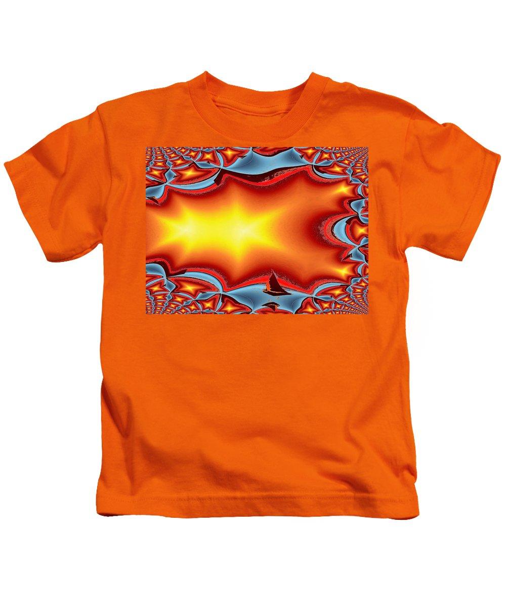 Sail Kids T-Shirt featuring the photograph Alki Sail Under The Sun by Tim Allen