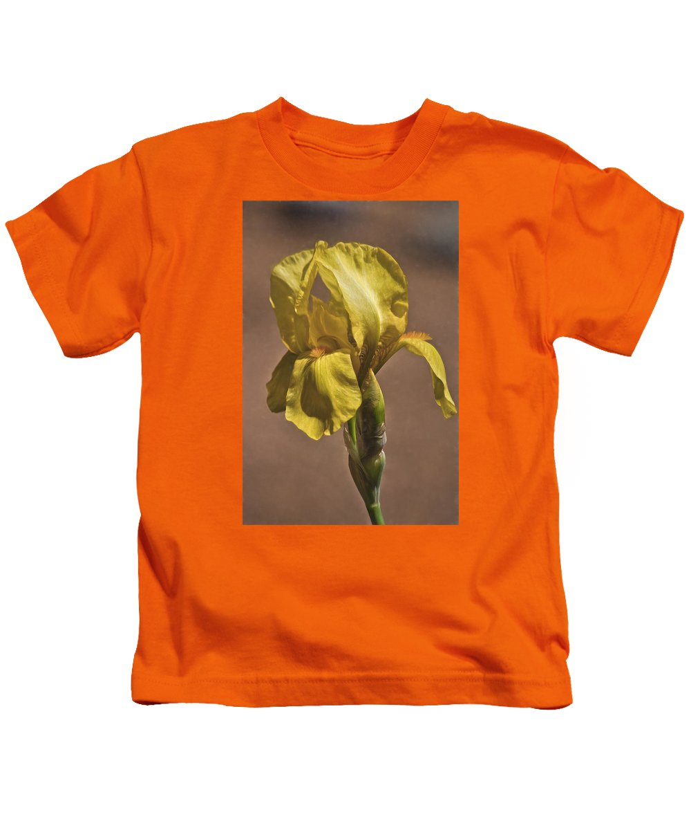 All Kids T-Shirt featuring the photograph All About Yellow by David Kehrli