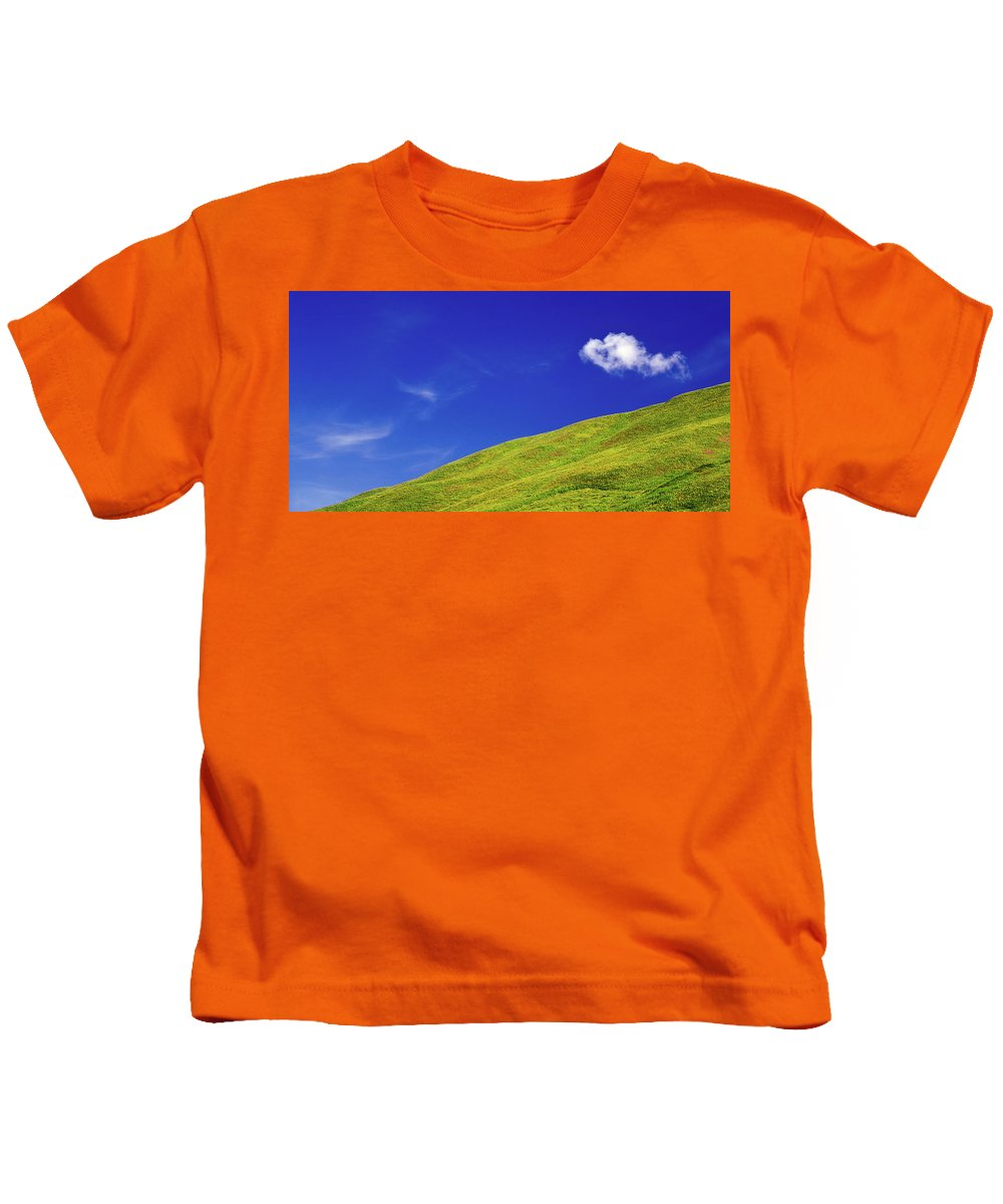 Alone Kids T-Shirt featuring the photograph Altai by Konstantin Dikovsky