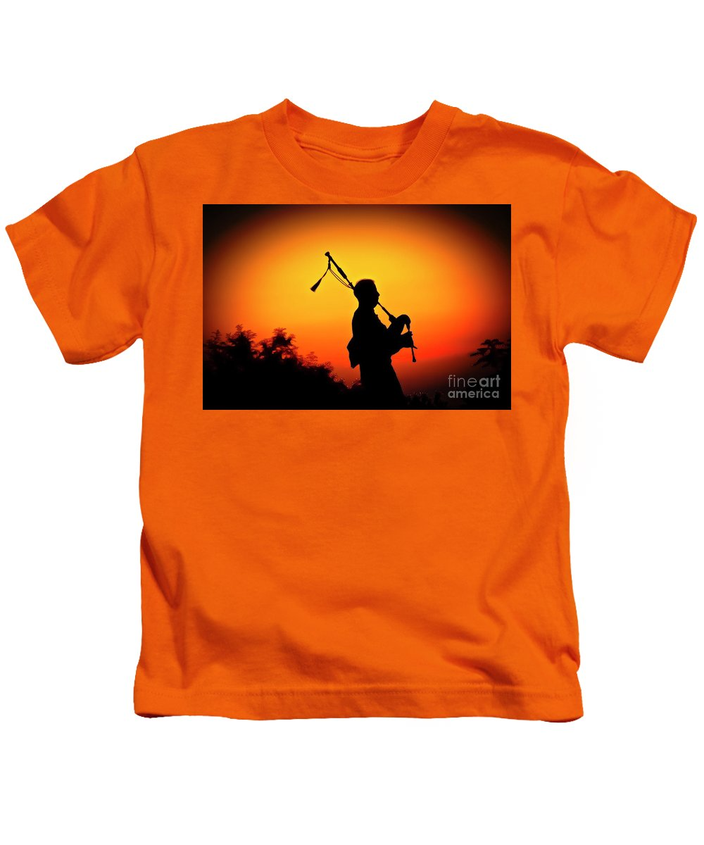 Sunset Kids T-Shirt featuring the photograph Amazing Grace by Jim Cazel