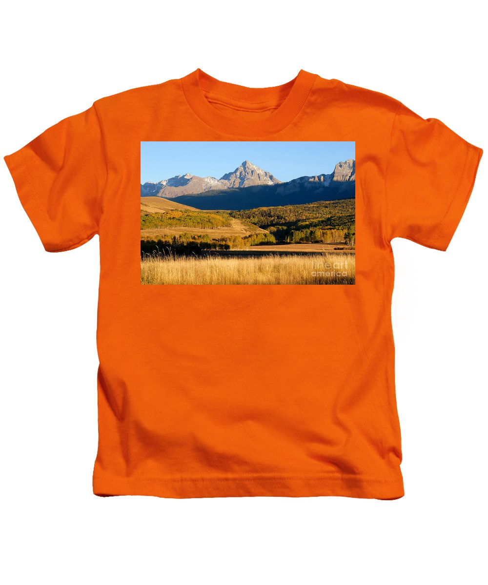 America Kids T-Shirt featuring the photograph America The Beautiful by David Lee Thompson