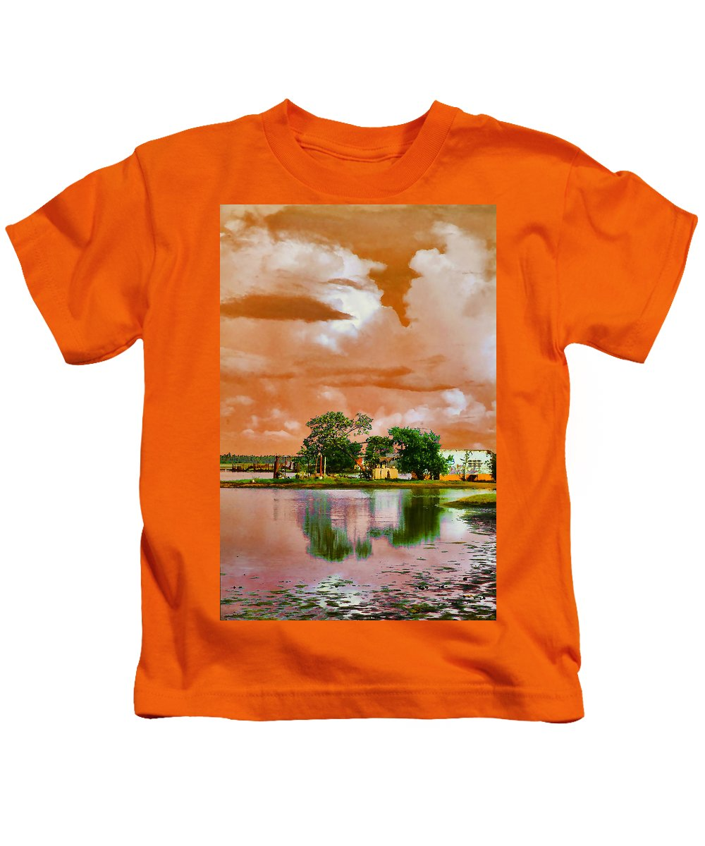 Animal Kids T-Shirt featuring the photograph Animal Reserve Of Cuare by Galeria Trompiz