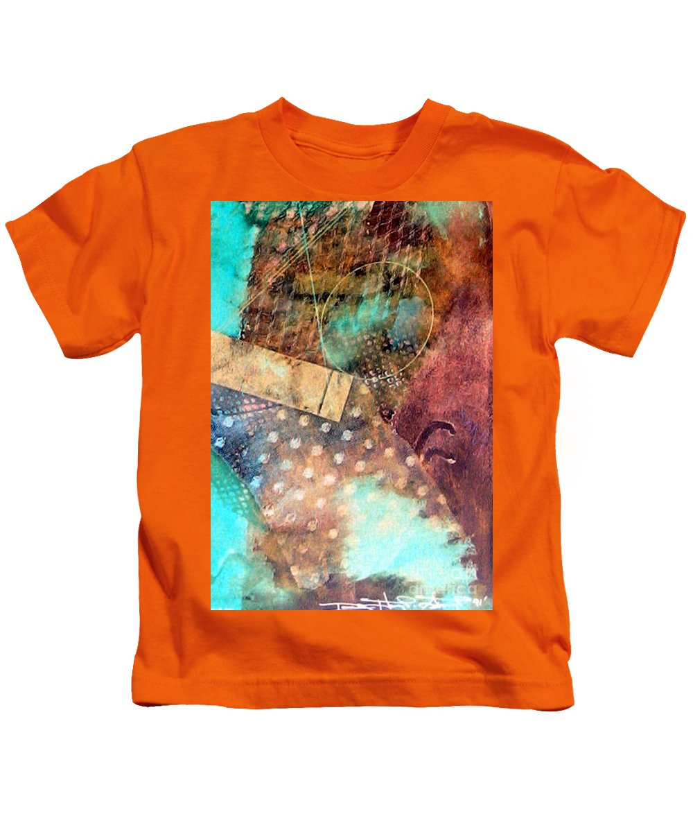 Anticipation Kids T-Shirt featuring the painting Anticipation by Dawn Hough Sebaugh
