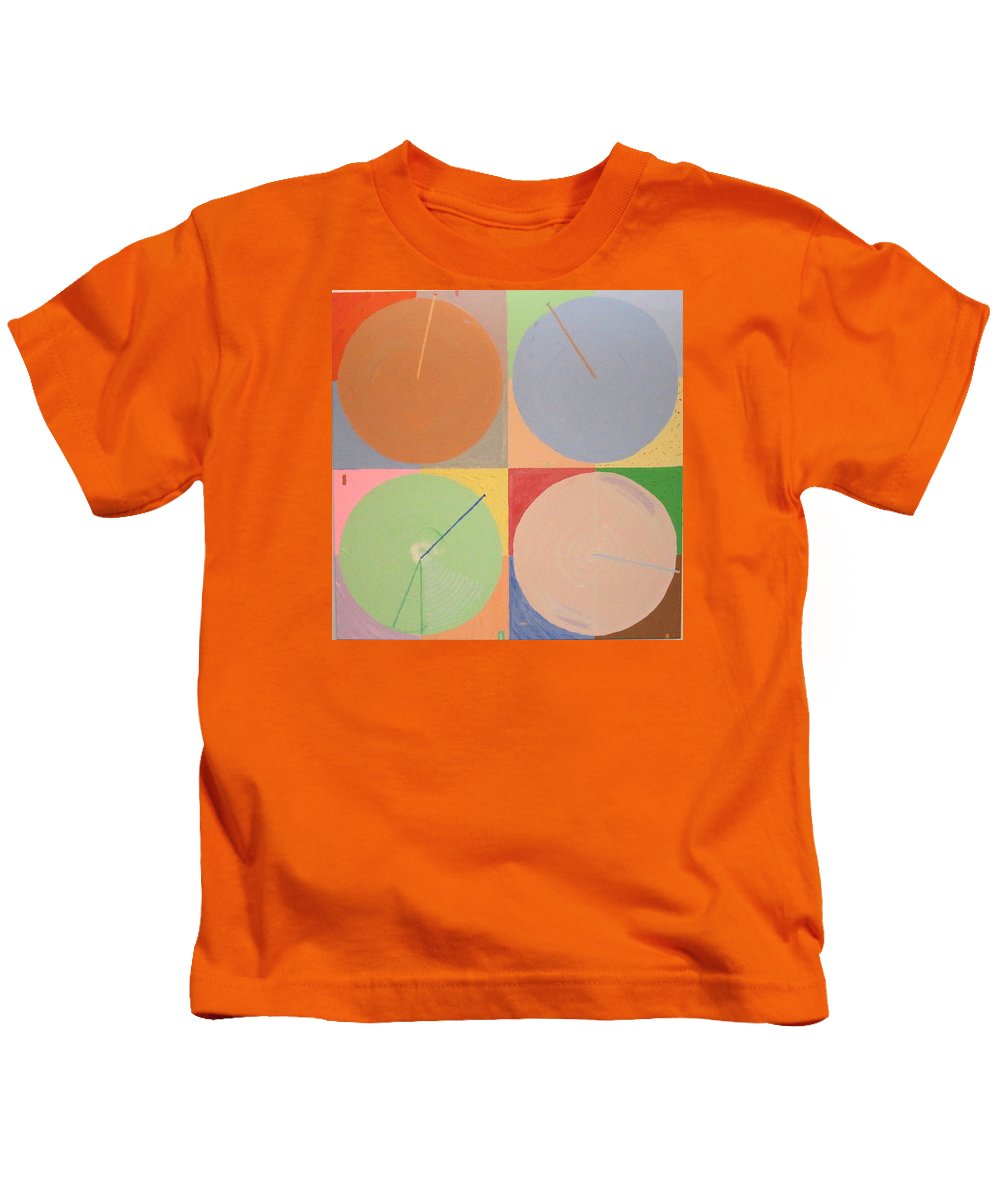 Landscape Kids T-Shirt featuring the painting Aquifer # 2 by Jonathan Perlstein