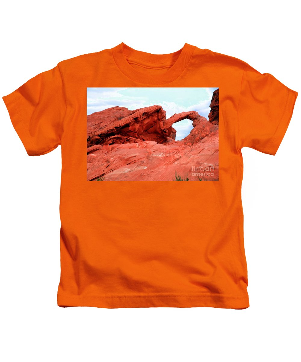 Arch Kids T-Shirt featuring the photograph Arch by Kathleen Struckle