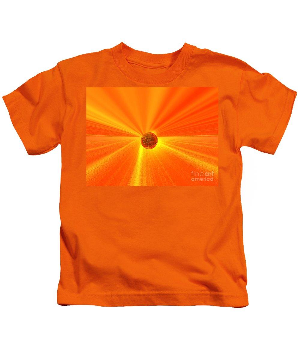 Wisdom Kids T-Shirt featuring the digital art Beyond Wisdom by Oscar Basurto Carbonell