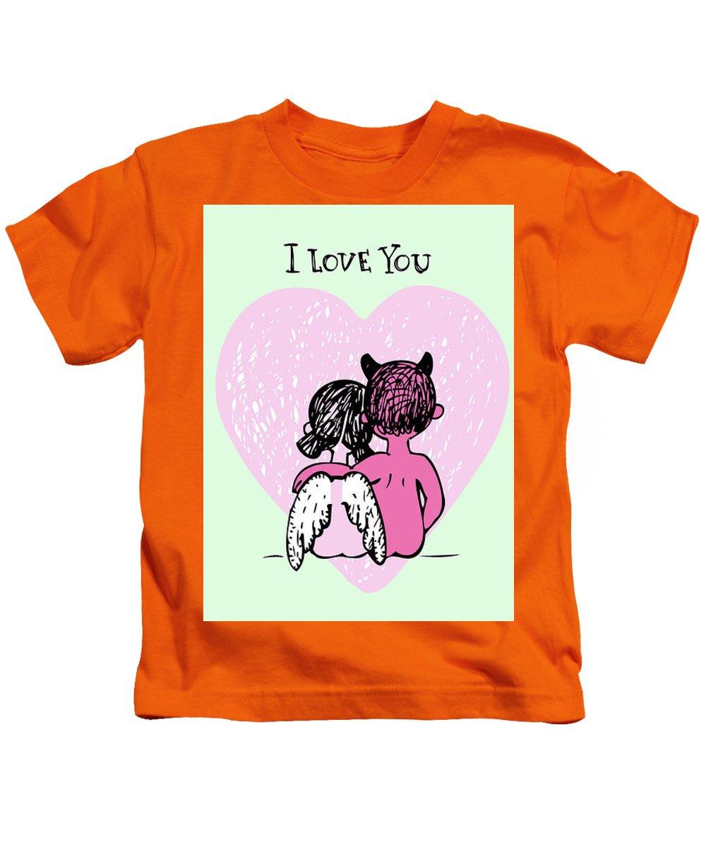 Adult  Kids T-Shirt featuring the digital art Bigstock - 25000286 by Mitchell Watrous