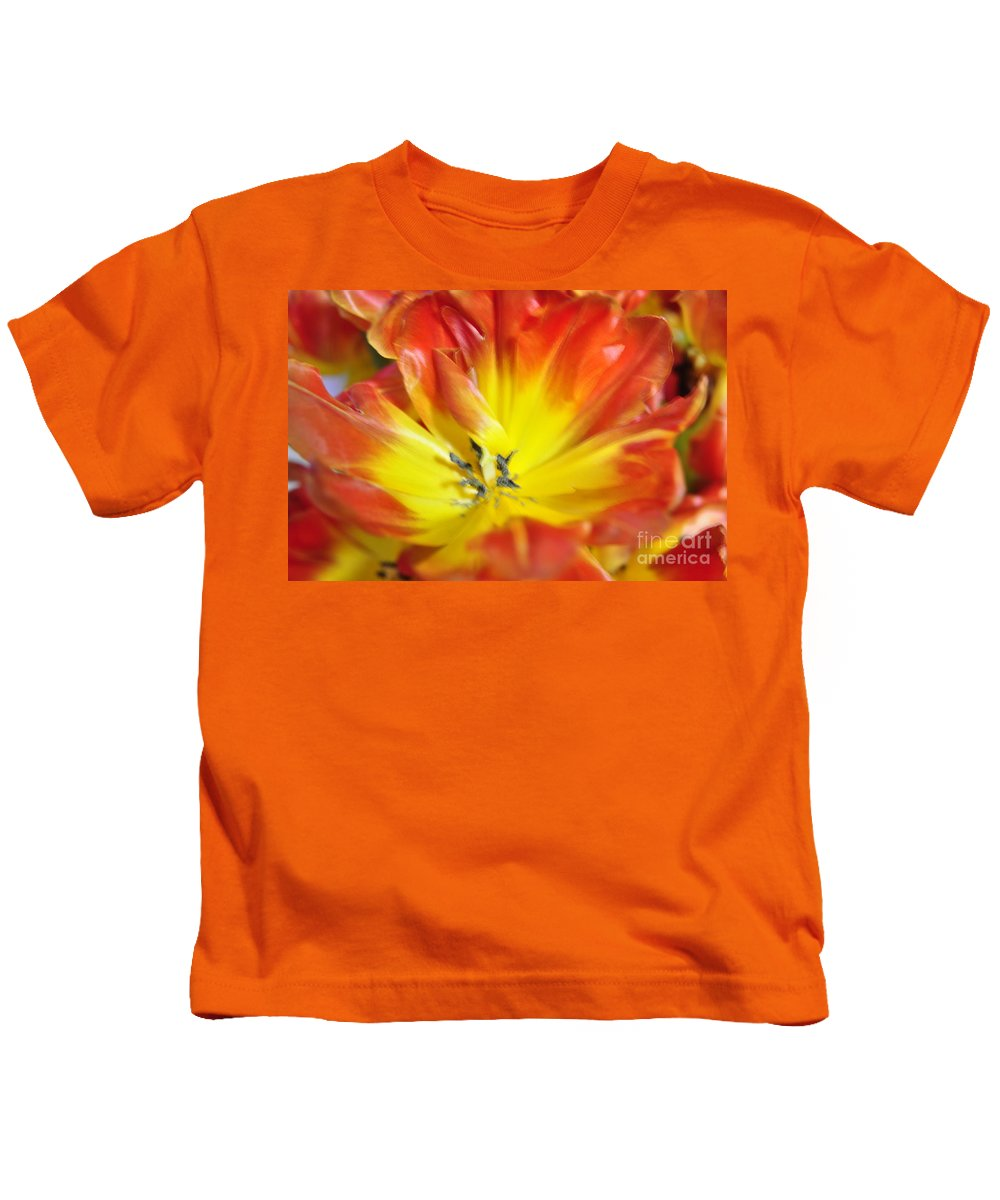 Flower Kids T-Shirt featuring the photograph Blossom by Vicky Tubb