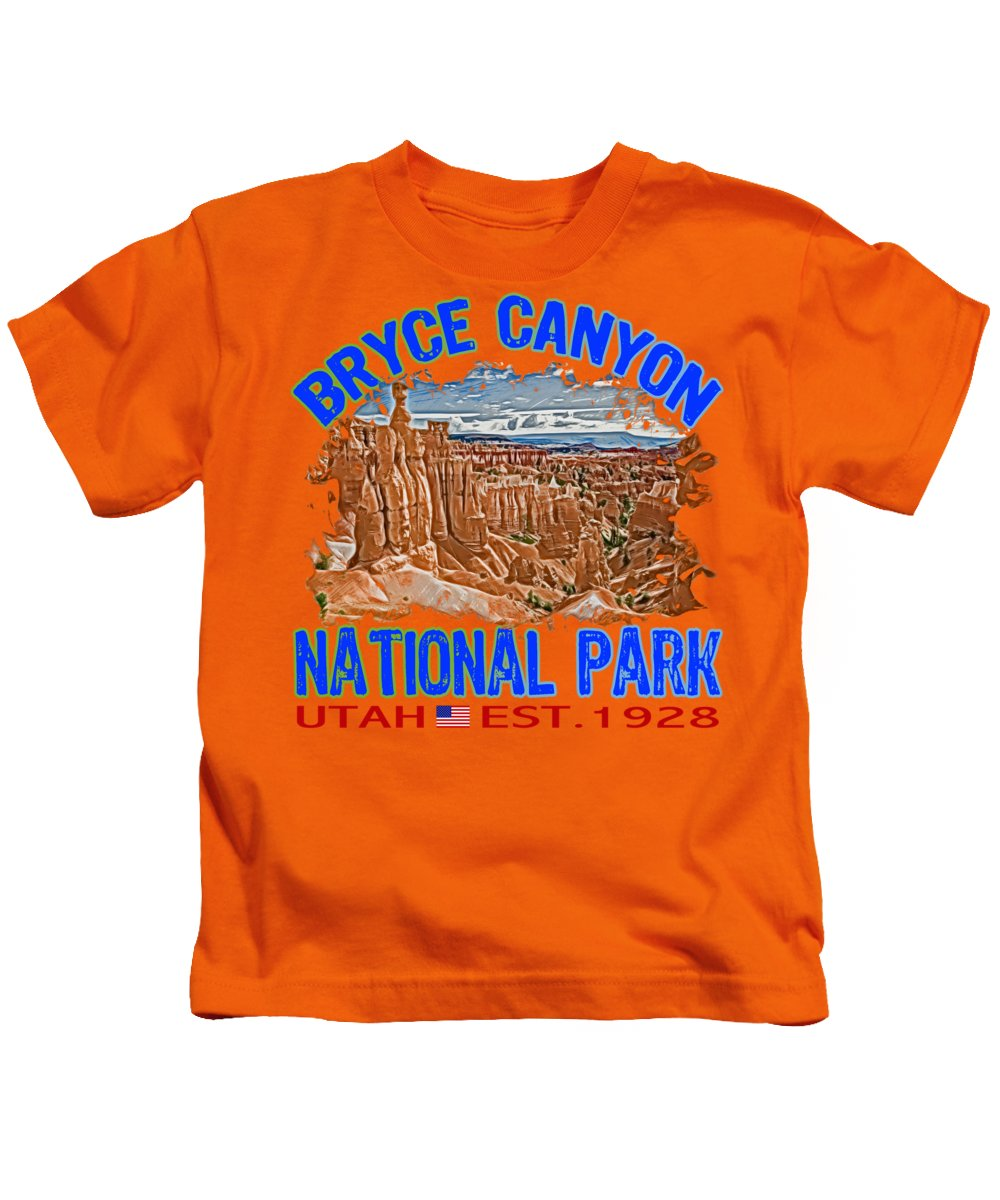 Bryce Canyon Kids T-Shirts