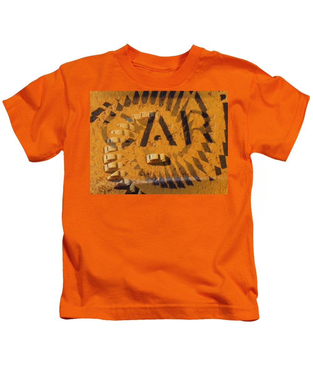 Car Kids T-Shirt featuring the digital art Car by Tim Allen